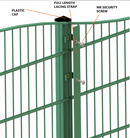 Dual Defence Wave Mesh Fencing