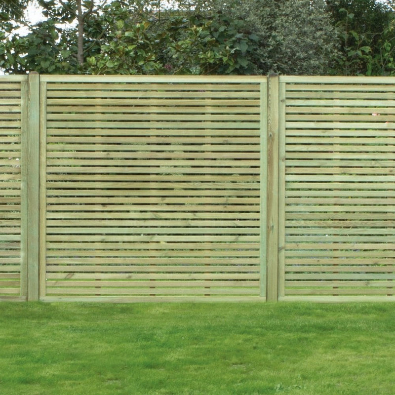 SLATTED PANEL | Almec Fencing | UK Suppliers & Erectors of Domestic & Industrial Fencing