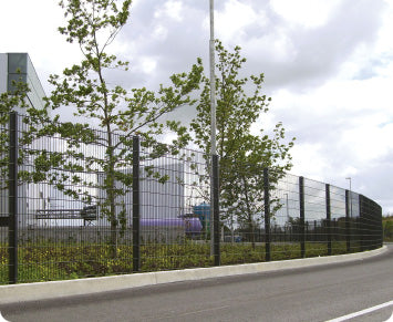 DUAL DEFENCE |  AlmecFencing Limited | Stoke-on-Trent