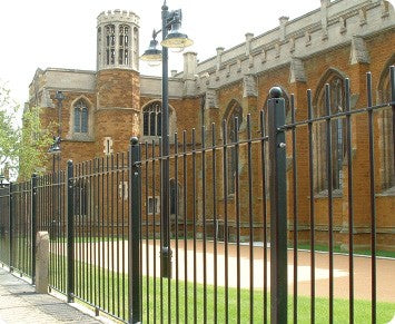 VERTICAL BAR RAILINGS | Almec Fencing | Industrial & Domestic Fencing