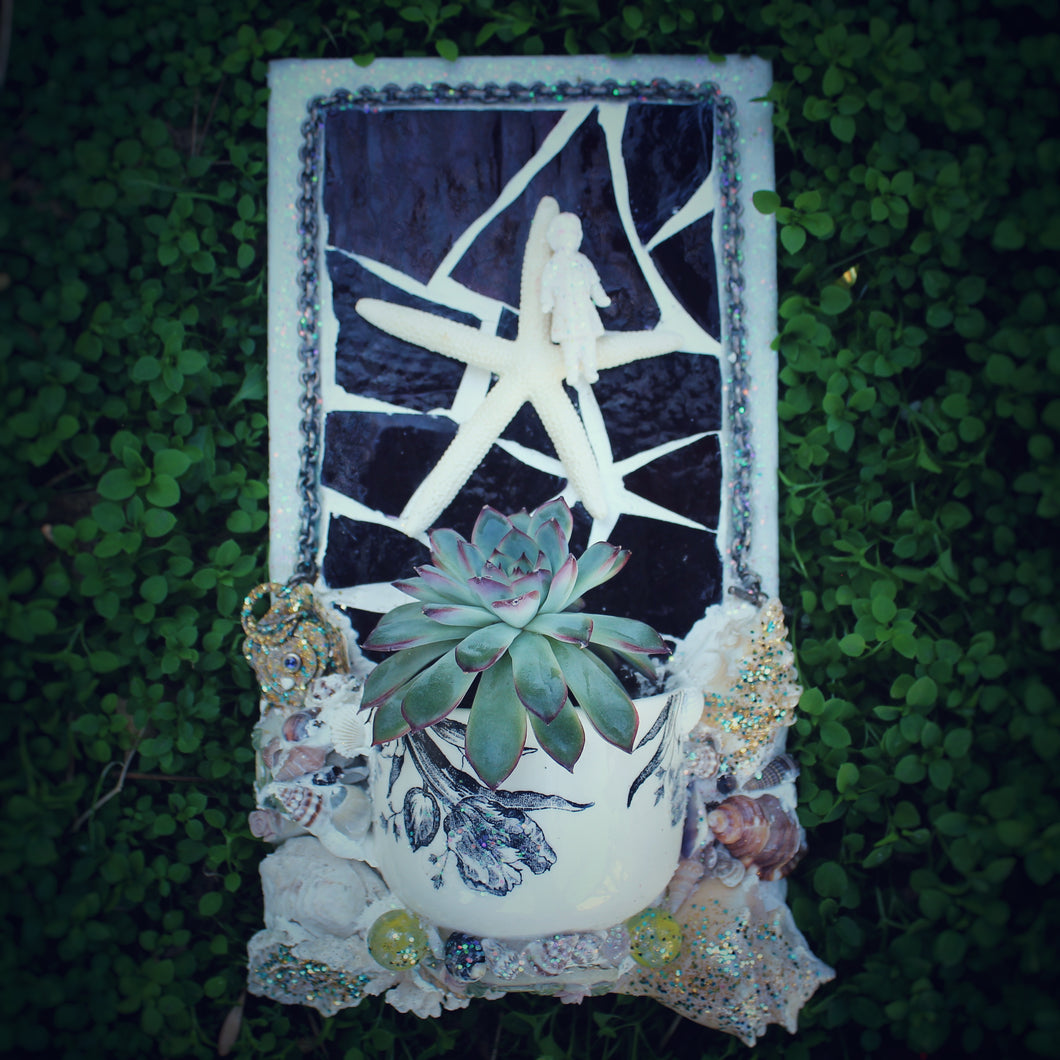 Starfish Angel Planter