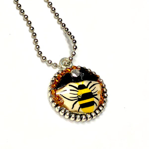 Bee Hopeful Pendant Series