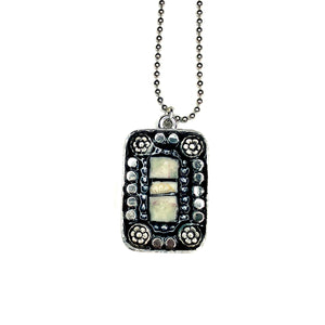 Mosaic Pendant Necklace Jewelry China Boho
