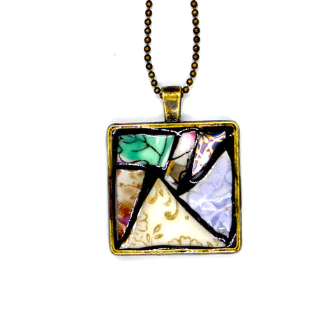 Triangle Leaf Pendant