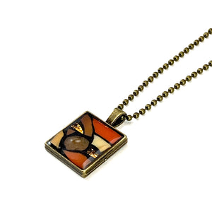 Small Orange Pendant