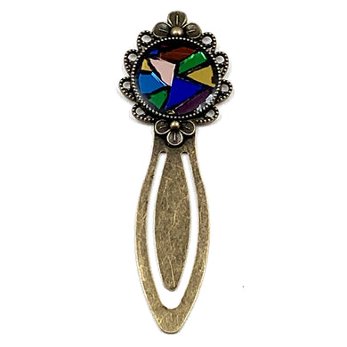 Multicolor Antique Gold Bookmark