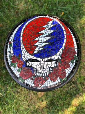 Grateful Dead Plant Stand