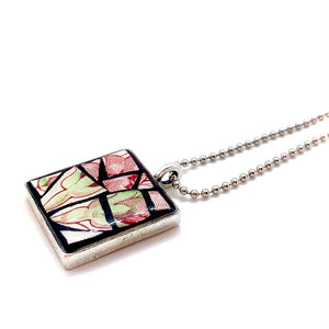 Red Bud and Leaves Pendant Collection