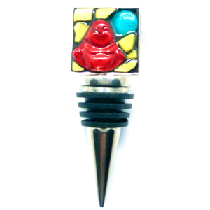 Buddha Square Bottle Stopper