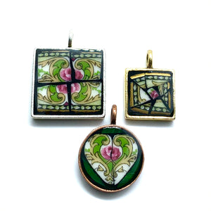 Vintage Rose Pendant Collection