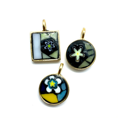Yellow Stars Geometric Pendant Collection