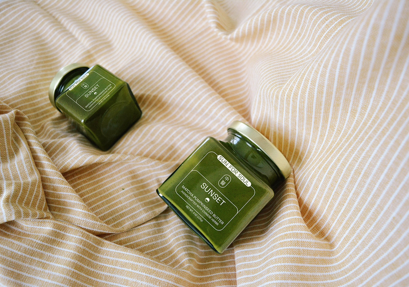 All about our Sunset Matcha sprouted pumpkin seed butter
