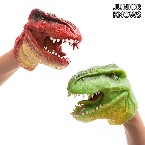 Junior Knows Dinosaur Hand Puppet