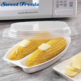Sweettreats 2 Tier Microwaveble Steamer Healthy Cooking Quick Fast Vegetables