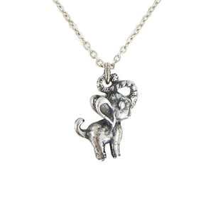 Silver Heffalump Necklace