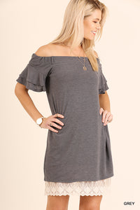 Off Shoulder Dress/Tunic