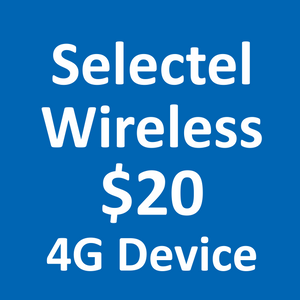 Selectel Wireless $20 4G Plan