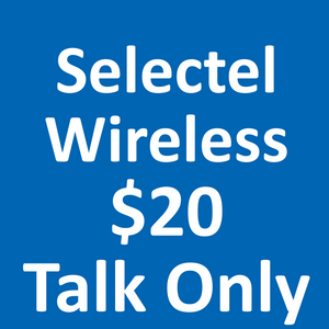 Selectel Wireless $20 Talk Only 3G Plan