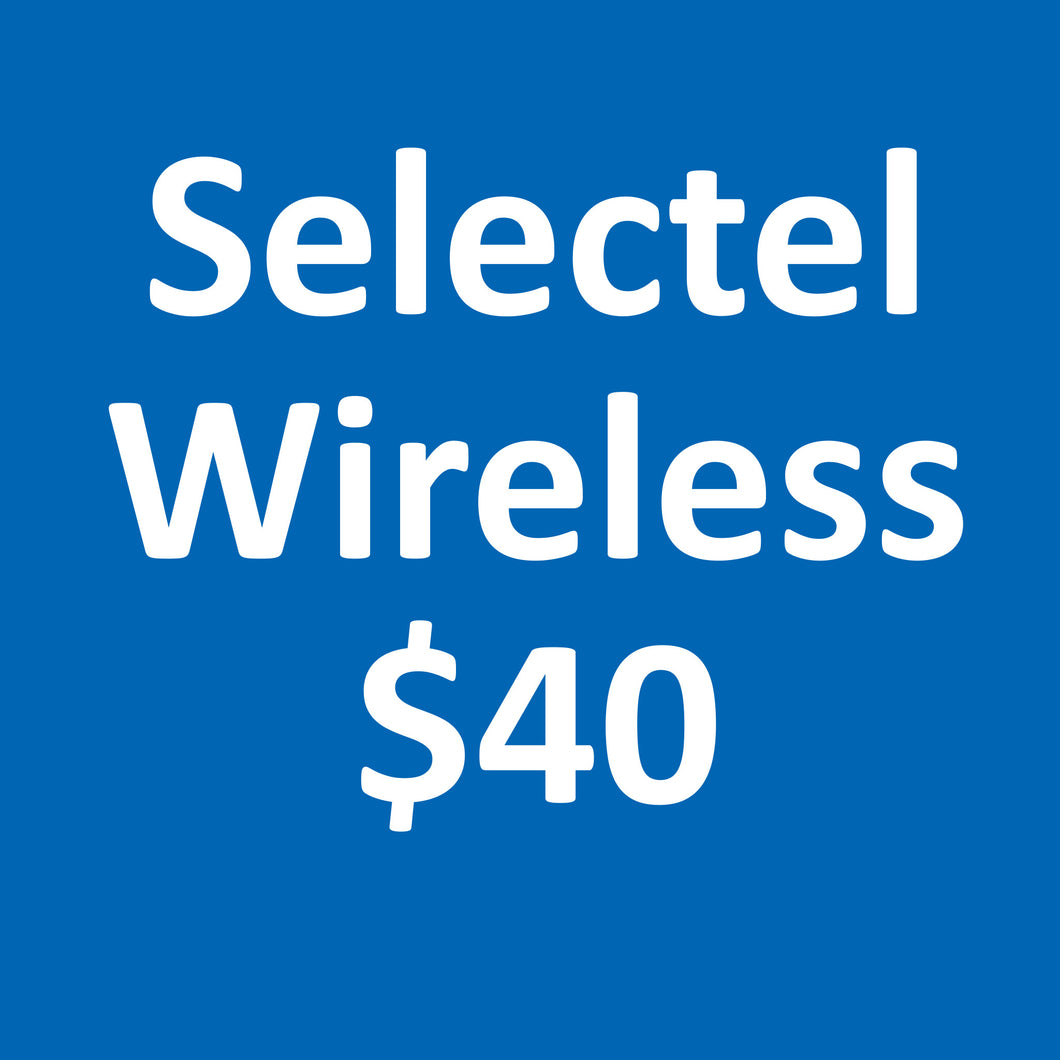 Selectel Wireless $40 Plan