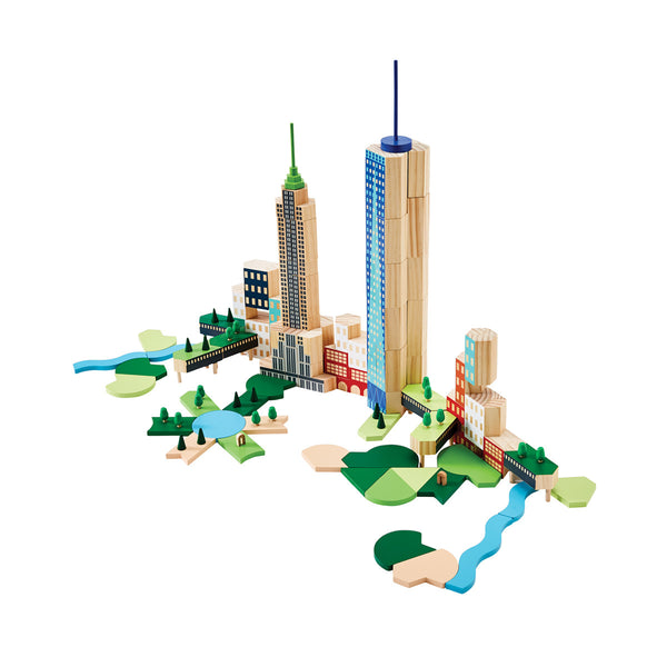 Blockitecture NYC Big Apple Building Blocks | Areaware