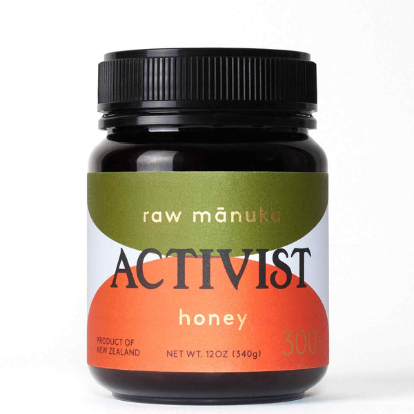 Activist Raw Manuka Honey 300+ 340g