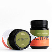 Activist Raw Manuka Honey 300+ 340g Jars