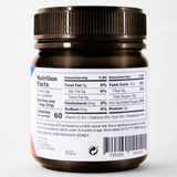 Activist Raw Manuka Honey 850+ Nutritional Information