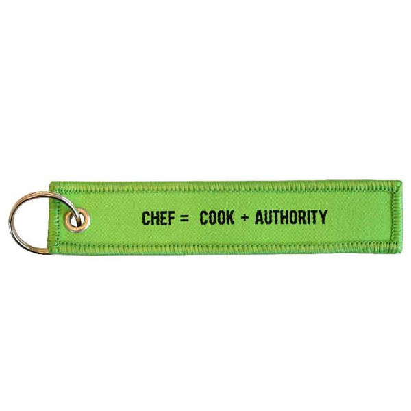 Fabric Keyring for the New Math Collection (Chef) | Craig Damrauer