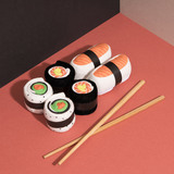 Doiy Sushi Socks with Chopsticks