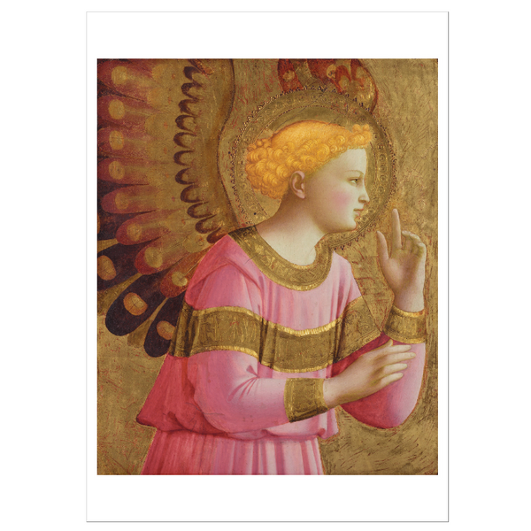 Annunciatory Angel by Fra Angelico Postcard