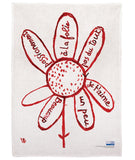 Louise Bourgeois Virtues Theologales Linen Tea Towel
