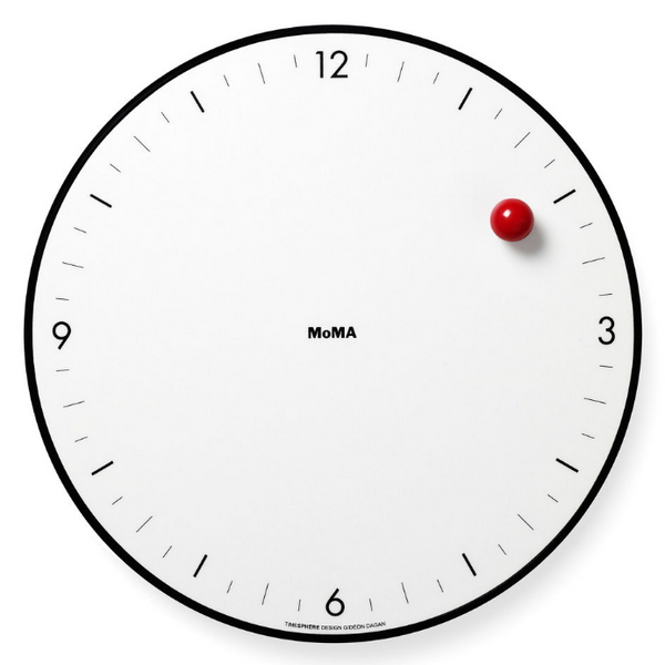 MoMA Design Store Timesphere Wall Clock