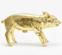 Harry Allen Reality Bank in the Form of a Pig Gold Piggy Bank