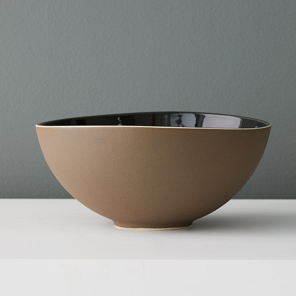 Susannah Bridges Small Shadow Bowl in Sandstone Brown
