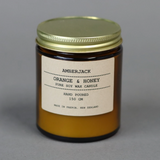 Orange and Honey Soy Candle | Amberjack