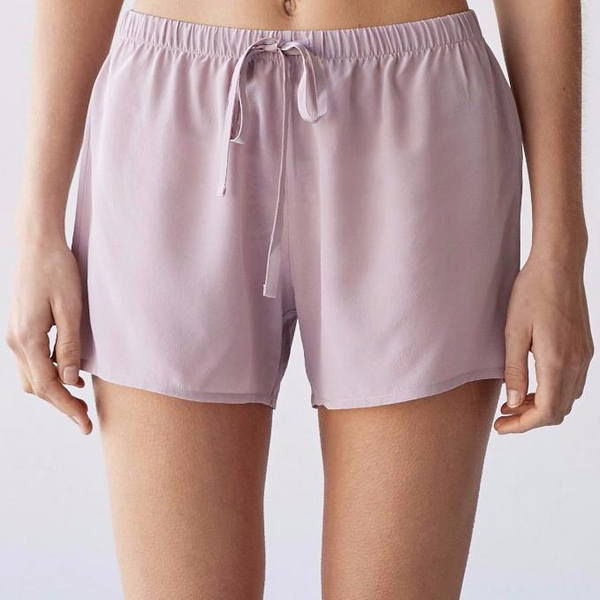 Laing James Silk Boxers Antique Blush Front