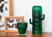 Doiy Saguaro Cactus Glasses stacked on desk
