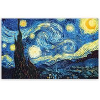 Museum Made Vincent Van Gogh The Starry Night Microfibre Lens Cloth