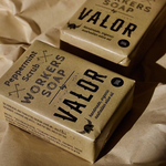 Organic Peppermint Workers Scrub Soap | Valor