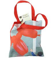 We Go To The Gallery I Want to Play With The Balloon Tote Bag with Book