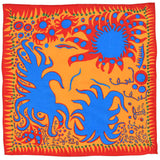 Yayoi Kusama Fine Lawn Cotton Joy I Feel Handkerchief