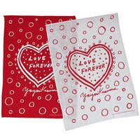 Yayoi Kusama Love Forever Tea Towel Set of 2