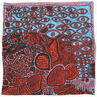 Yayoi Kusama Fine Lawn Cotton Eyes of Mine Handkerchief