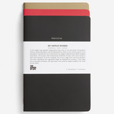 The School Of Life Anti-Capitalist Notebooks Set of 3