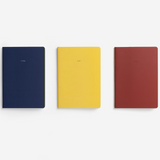 The School Of Life Bauhaus Notebooks Set of 3 Line Up
