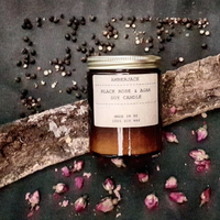 Amberjack Black Rose and Oud Soy Candle