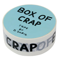 David Shrigley Box of Crap Packing Tape Side View