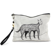 Louise Bourgeois Self Portrait Cotton Cat Pouch