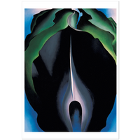 Georgia O'Keeffe Jack-in-the-Pulpit—No. IV Notecard