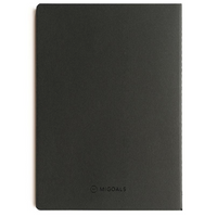 MiGOALS Get Shit Done A6 Classic Notebook in Black back cover